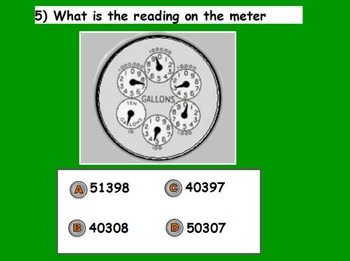 Managing a household - Reading Meters w Worksheet; Real world Math (SMART BOARD)
