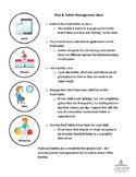 Info Sheet - Managing iPad