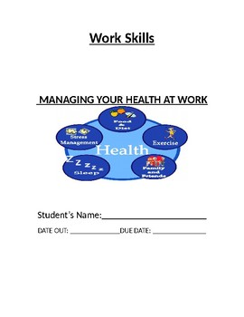 Managing your Health at Work