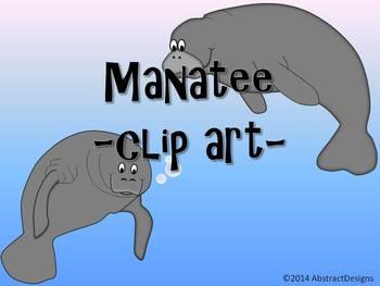 Manatee CLIP ART