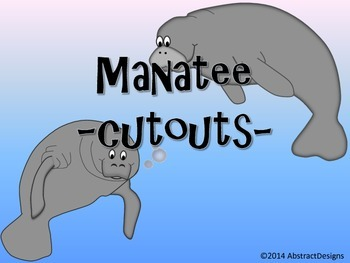 Manatee Cutouts