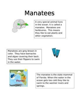 Manatee Reading Instruction with Assessment