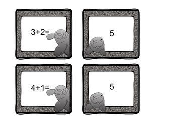 Manatee Unit (Literacy and Math Activities)