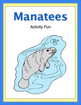 Manatees Activity Fun