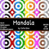 Mandala - 20 Digital Papers