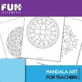 Mandala Art for Teachers Bundle