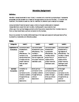 Mandala Assignment