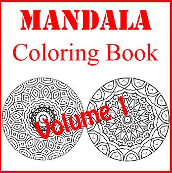 Mandala Coloring Book, Volume 1