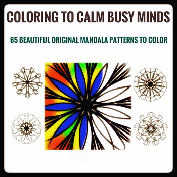 ART. Mandala Coloring Book
