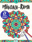 Mandala Coloring Book –Mandala-Rama #1