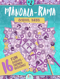 Mandala Coloring Book – Mandala-Rama #2 – School Days