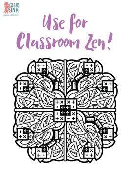 Mandala Coloring Book – Mandala-Rama #2 – School Days