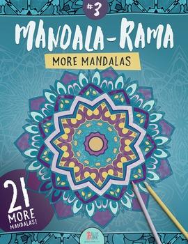 Mandala Coloring Book – Mandala-Rama #3 – More Mandalas