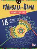 Mandala Coloring Book – Mandala-Rama #4 – Complete It!