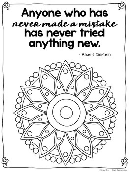 mandala coloring pages meaningful quotes - photo#48