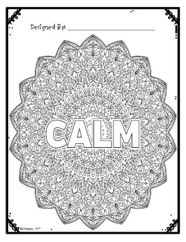 Mandala Coloring Sheets