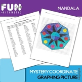 Mandala Coordinate Graphing Picture