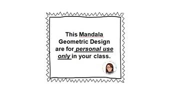 Mandala Geometric Designs