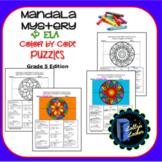 Mandala Grade 5 ELA Color by Code 15 Mystery Puzzles