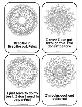 Mandala Mantras: Coping Skills For Test Anxiety