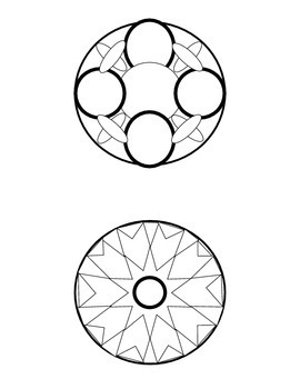 Mandala Mini Coloring Book