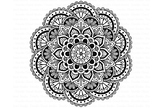 Mandala SVG DXF, Mandala Zentangle, Mandala SVG files.