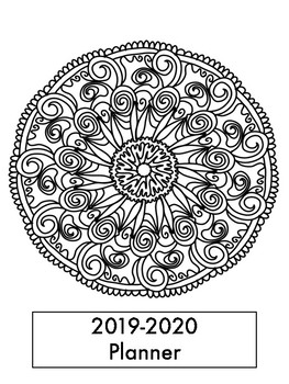 Mandala Teacher's Planner