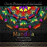 Mandala: The relief of stress Coloring Pages for Adults