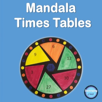 Mandala Times Tables