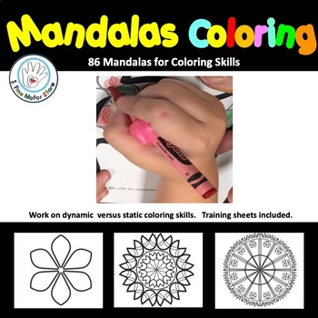 Mandalas Coloring Activities