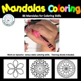 Mandalas Coloring Activities for older students