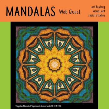 Mandalas Web Quest Eastern Art History Buddhism Hinduism Substitute Lesson