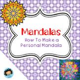 Mandalas- an art lesson!