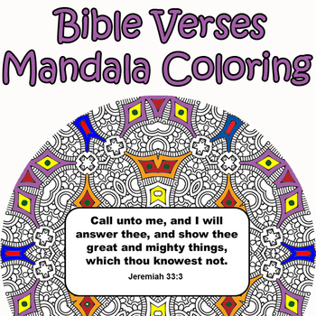 Mandalas and Bible Verses-Inspirational Mandalas Coloring Book with ...