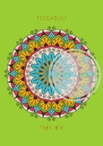 Mandalas coloring page #2. Printable, digital, abstract