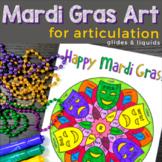 Mandalas for Articulation | Mardi Gras Glides and Liquids