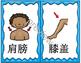 Mandarin Chinese Body Parts set I bundle package 身体部位I游戏集合
