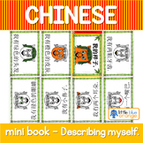 Mandarin Chinese Sentence Pattern Mini book 描述自己/describing yourself