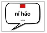 Mandarin Chinese Words & Phrases