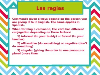 Mandatos (Commands)