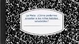 Mandatos Informales - Write Spanish children's book about health