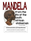 Mandela, by Floyd Cooper: Demonstration of Understanding