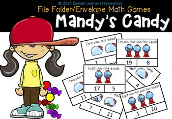 Mandy's Candy Clip Cards (and mini number puzzles 1-20)