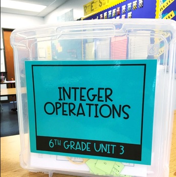 Maneuvering the Middle Math Curriculum Storage Labels - TEKS