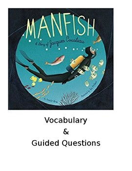 Manfish A Story Of Jacques Cousteau By Miss Lady Literacy Corner