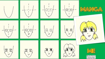Manga Me: Draw Simple Japanese Comic Anime Faces