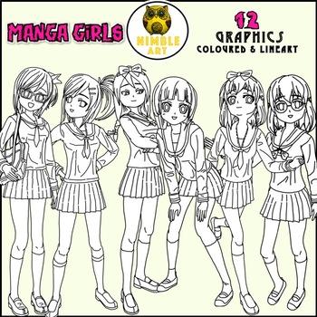 Manga Clipart