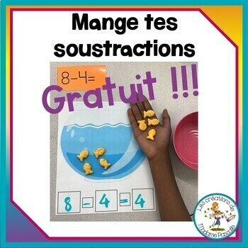 Mange tes soustractions / FRENCH eat your substractions