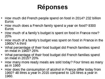 Manger et Boire / La cuisine en France / Food and drink / Food in France