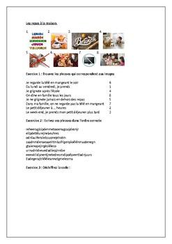 Manger et Boire / La nourriture / Les repas